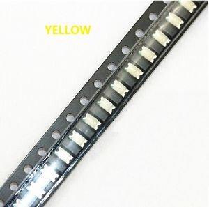 200 pcs SMD SMT 1206 Super bright Yellow LED lamp Bulb GOOD QUALITY