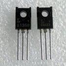 1 Pair 2SA1360-Y & 2SC3423-Y A1360 C3423 Toshiba Audio Transistors New