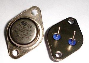 1Pcs 2N3055 TO-3 NPN AF Amp Audio Power Transistor 15A/60V