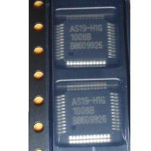 50PCS AS19-H1G AS19 E-CMOS LCD POWER SUPPLIES FOR REPAIR QFP48 IC