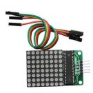 2PCS MAX7219 Dot led matrix module MCU control LED Display module NEW