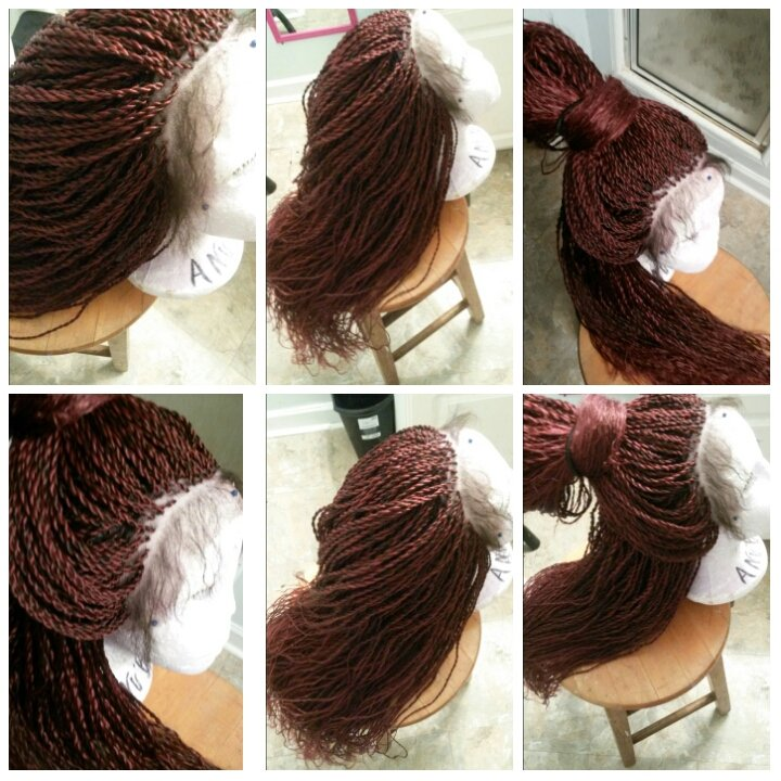 senegalese twist whole lace wig