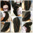 Faux Loc Whole lace wig