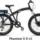 Prodecotech Phantom X LI V5 Folding E-Bike V5 300W