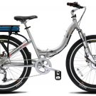 Prodecotech Stride 300 Watt 8-Speed Folding Frame Hybrid eBike