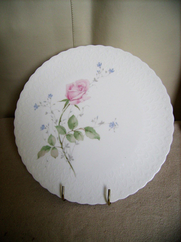 MIKASA Bone China Cake Stand-April Rose by Naruni Japan