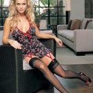 Lycra Halter Cherry Print Mini Dress -- 8419