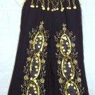 Black Belly Dance Top & Trouser Set -- V0302