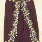 Brown Belly Dance Top & Pant Set -- V0291