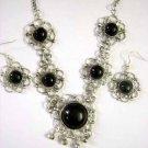 Tribal Earrings & Necklace Set -- CS0725