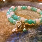 Calmness [Turquoise/Teal Awareness Bracelet w/ Hope Charm] #742