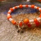 Balanced [Orange Awareness Bracelet w/ Hope Charm] #742