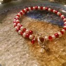 Independence [Red Awareness Bracelet w/ Hope Charm] #493