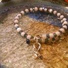 Brave [Blue Awareness Bracelet w/Hope Charm] #493