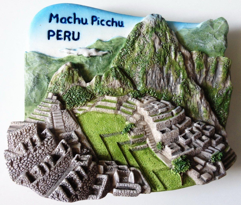 Machu Picchu Peru South America 3D fridge magnet