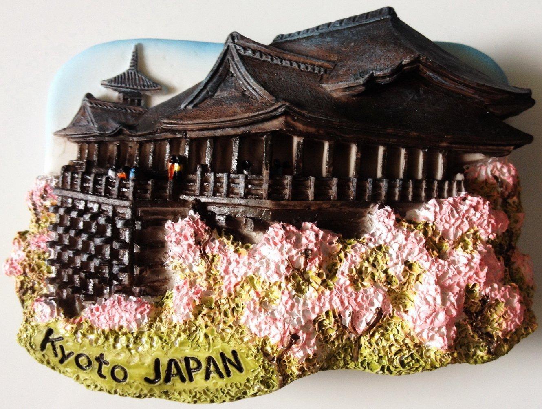 Kyoto Japan Kiyomizu-dera Water Temple 3D fridge magnet
