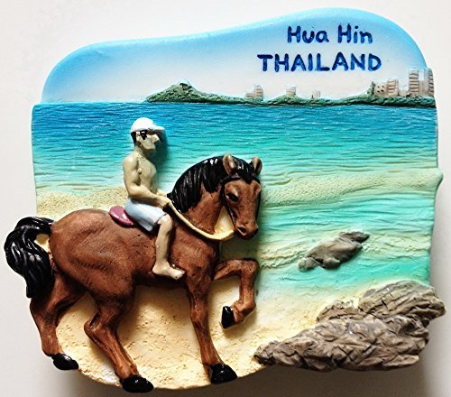 Hua Hin Thailand High Quality Resin 3D fridge magnet