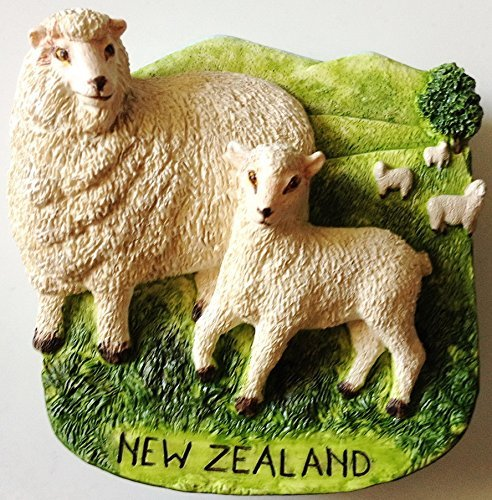 Sheep NEW ZEALAND High Quality Resin 3D fridge magnet