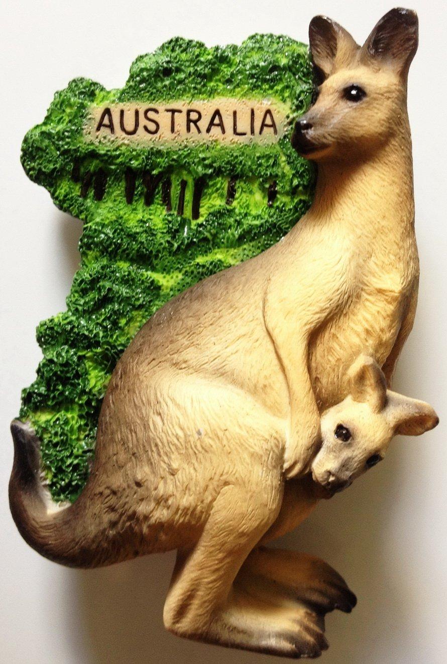Kangaroo AUSTRALIA High Quality Resin 3D fridge magnet
