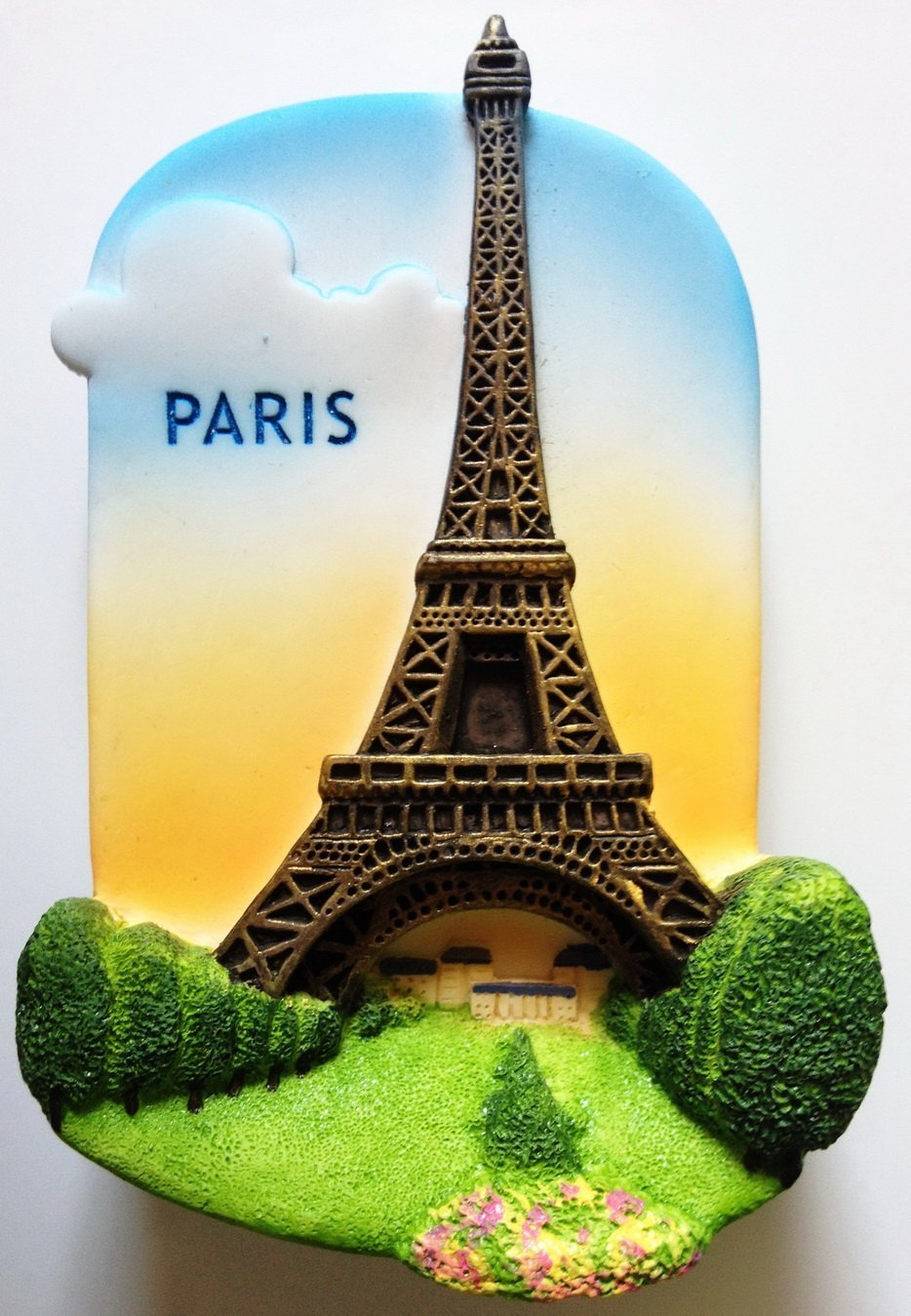Eiffel Tower PARIS High Quality Resin 3D fridge magnet