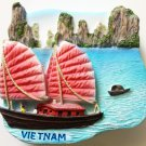 Halong Bay VIETNAM High Quality Resin 3D fridge magnet