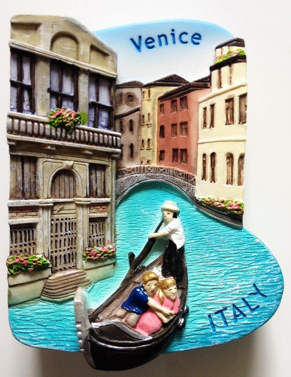 Venice Gondola ITALY High Quality Resin 3D fridge magnet