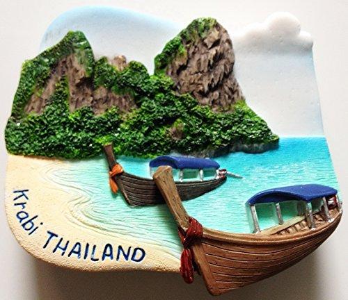 Railay Krabi Thailand High Quality Resin 3D fridge magnet