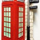 Telephone Booth LONDON High Quality Resin 3D fridge magnet