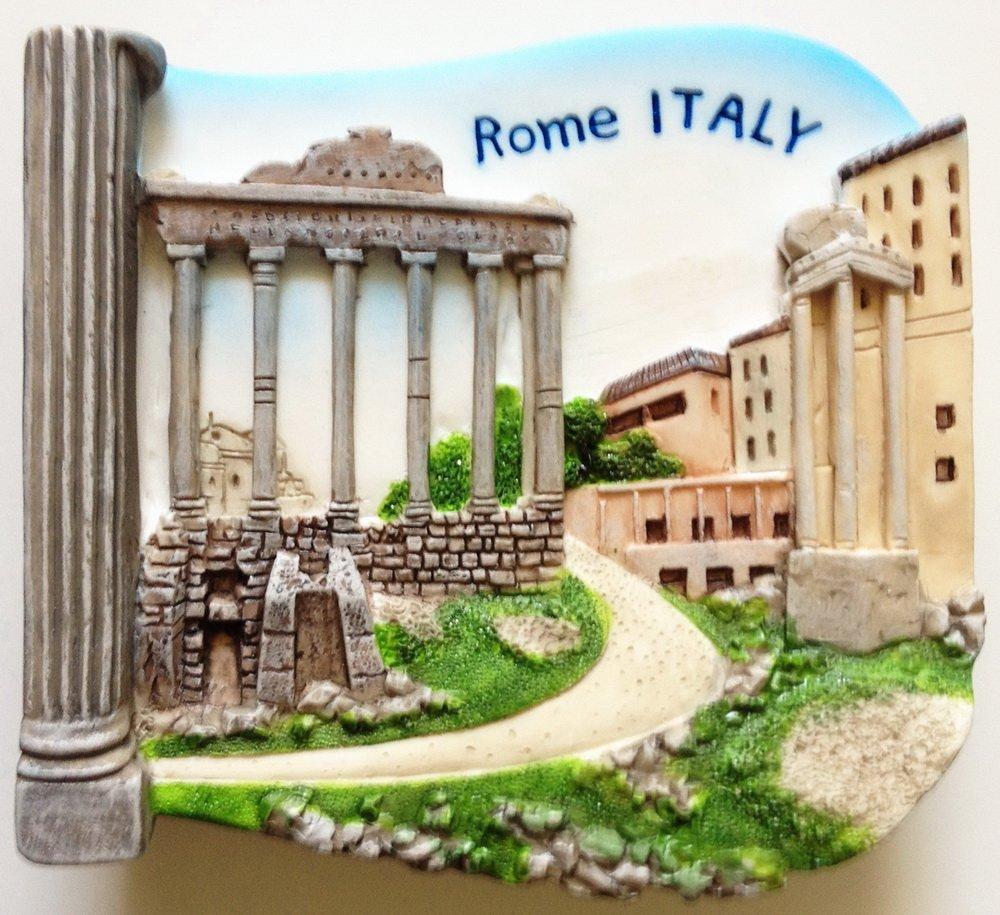 Roman Forum ROME Italy High Quality Resin 3D fridge magnet