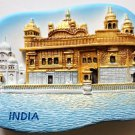 The Golden Temple (Harmandir Sahib) Amritsar INDIA 3D fridge magnet