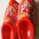 Red Wooden Shoes HOLLAND Dutch High Quality Resin 3D fridge magnet