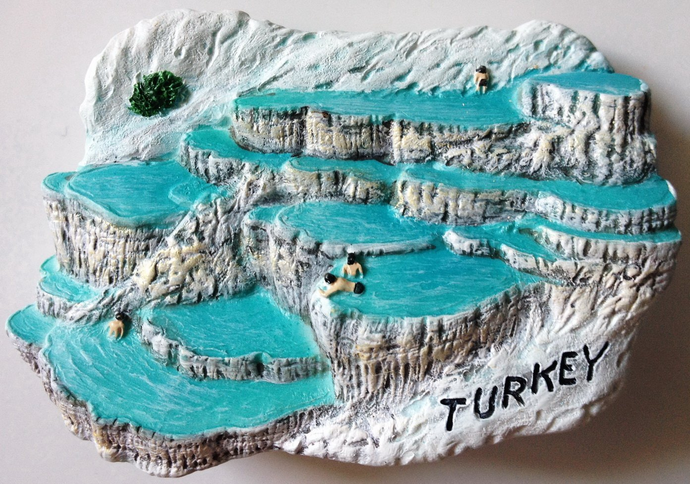 Pamukkale (Hierapolis) TURKEY High Quality Resin 3D fridge magnet