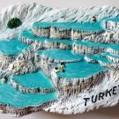Pamukkale (Hierapolis) TURKEY High Quality Resin 3D fridge magnet