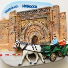 Bab Agnaou Marrakech MOROCCO High Quality Resin 3D fridge magnet