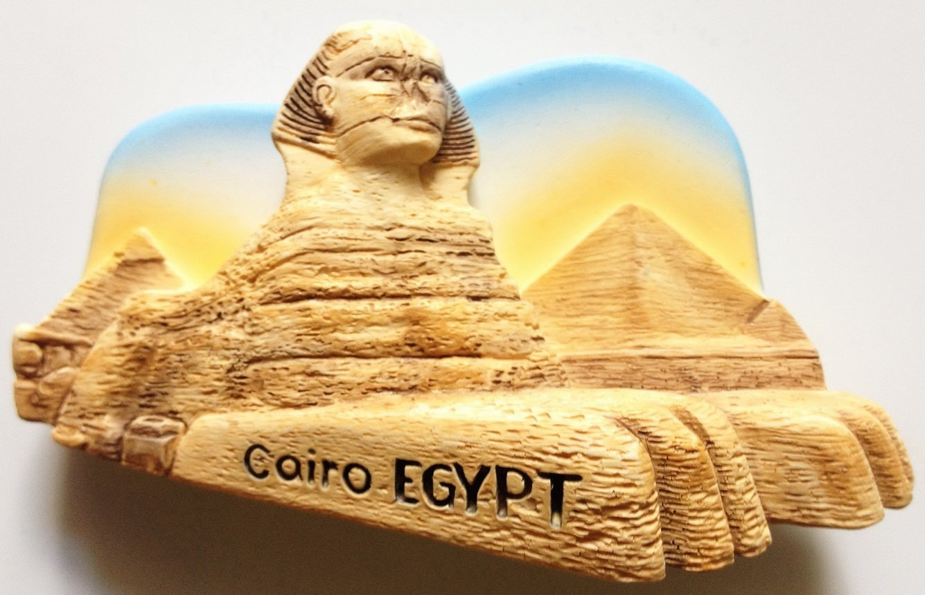 The Great Sphinx Cairo Egypt High Quality Resin 3D fridge magnet