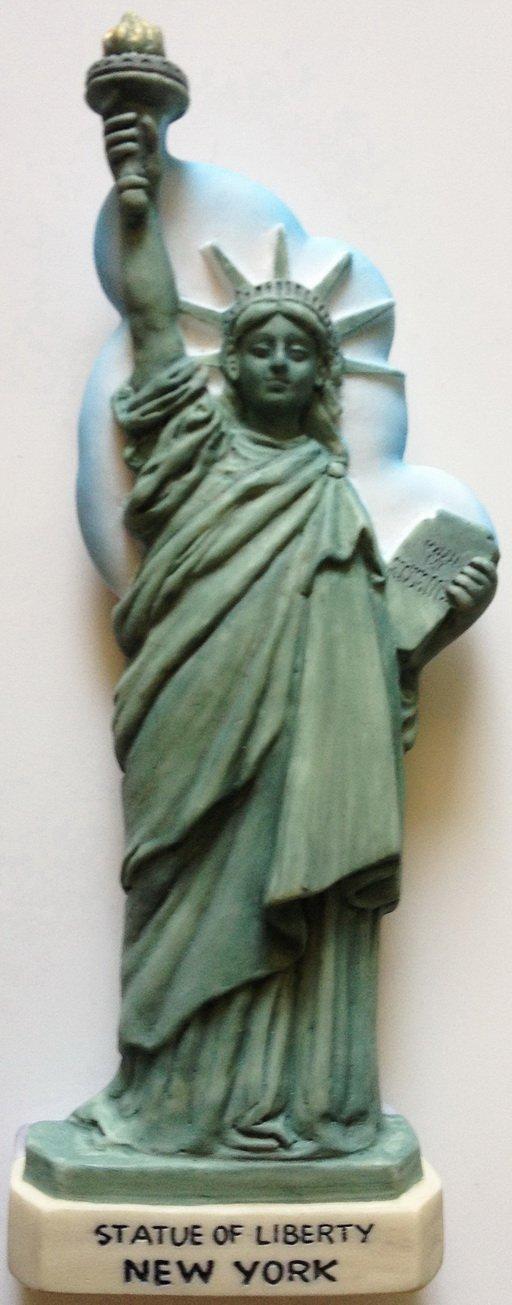 Statue of Liberty NEW YORK High Quality Resin 3D fridge magnet