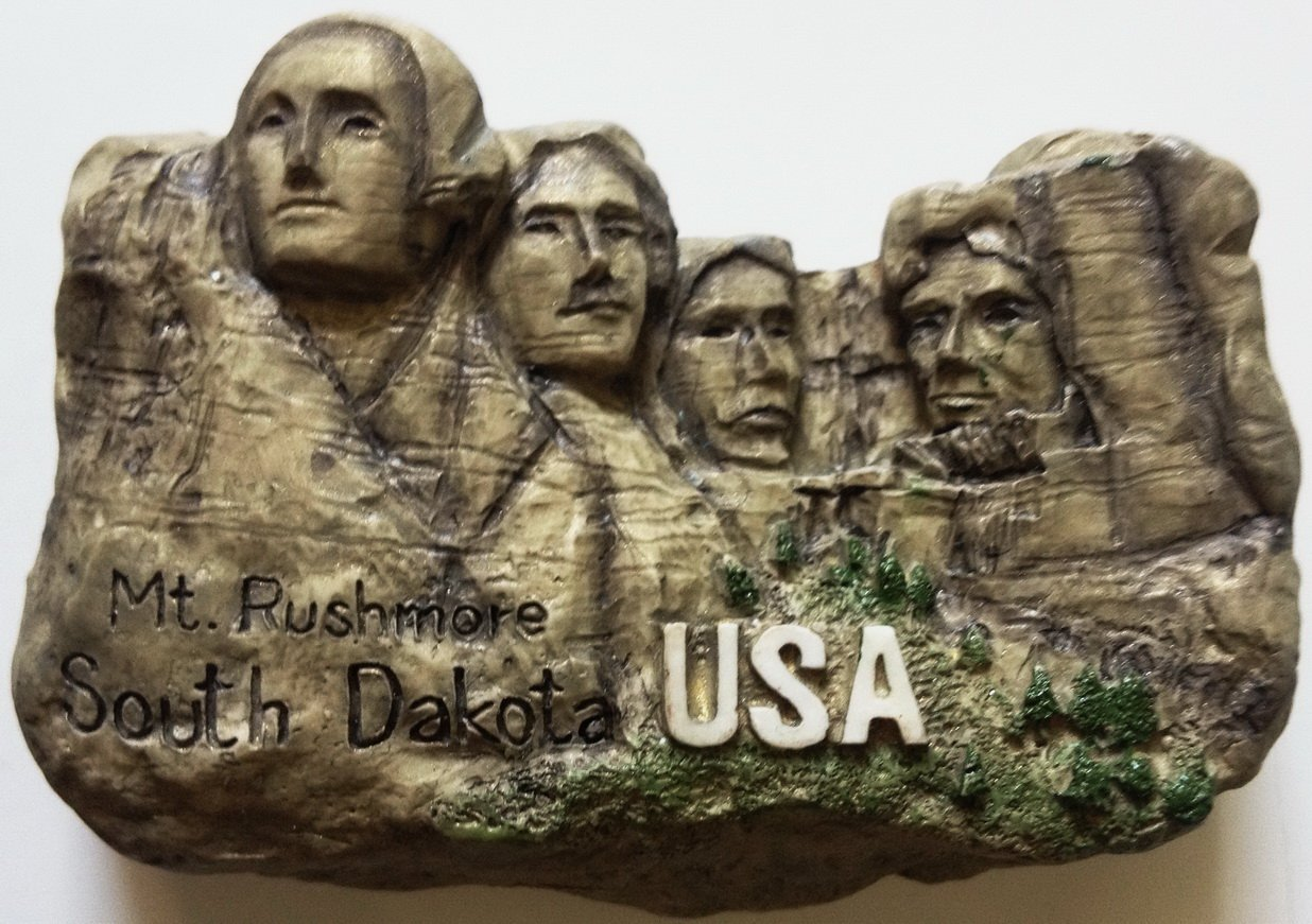 Mt. Rushmore South DAKOTA High Quality Resin 3D fridge magnet