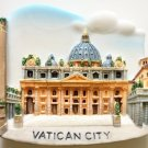 St. Peter's Basilica Vatican City Rome Italy High Quality Resin 3D fridge magnet