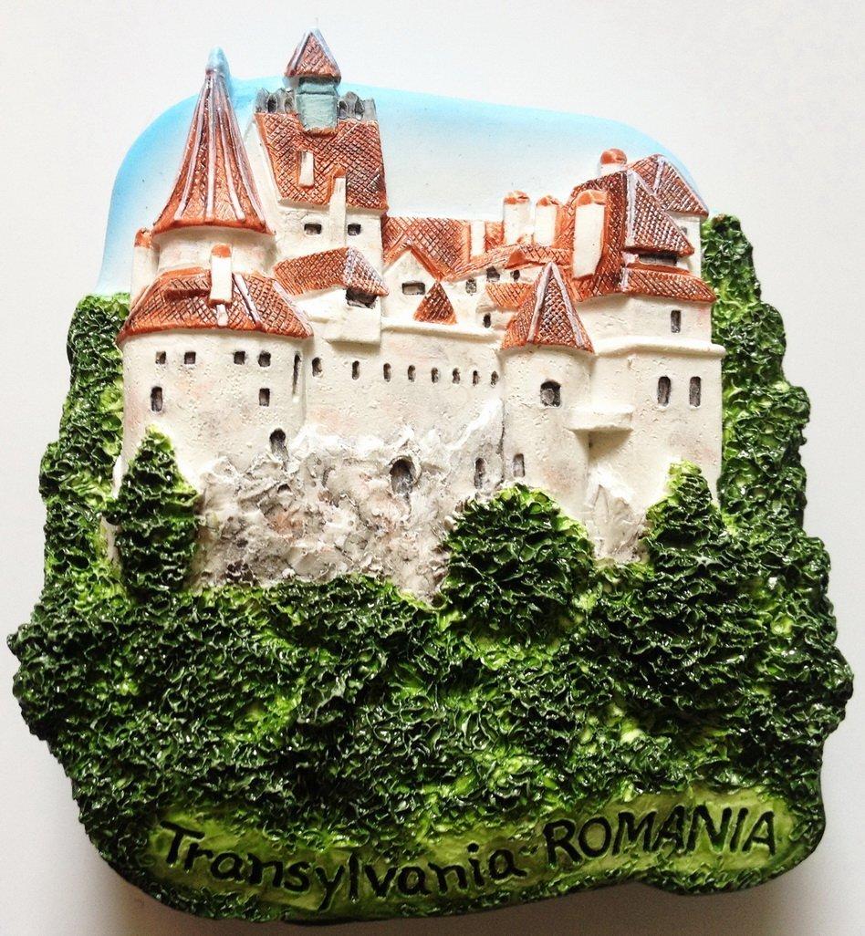 Bran Castle (Dracula's) Transylvania ROMANIA High Quality Resin 3D fridge magnet