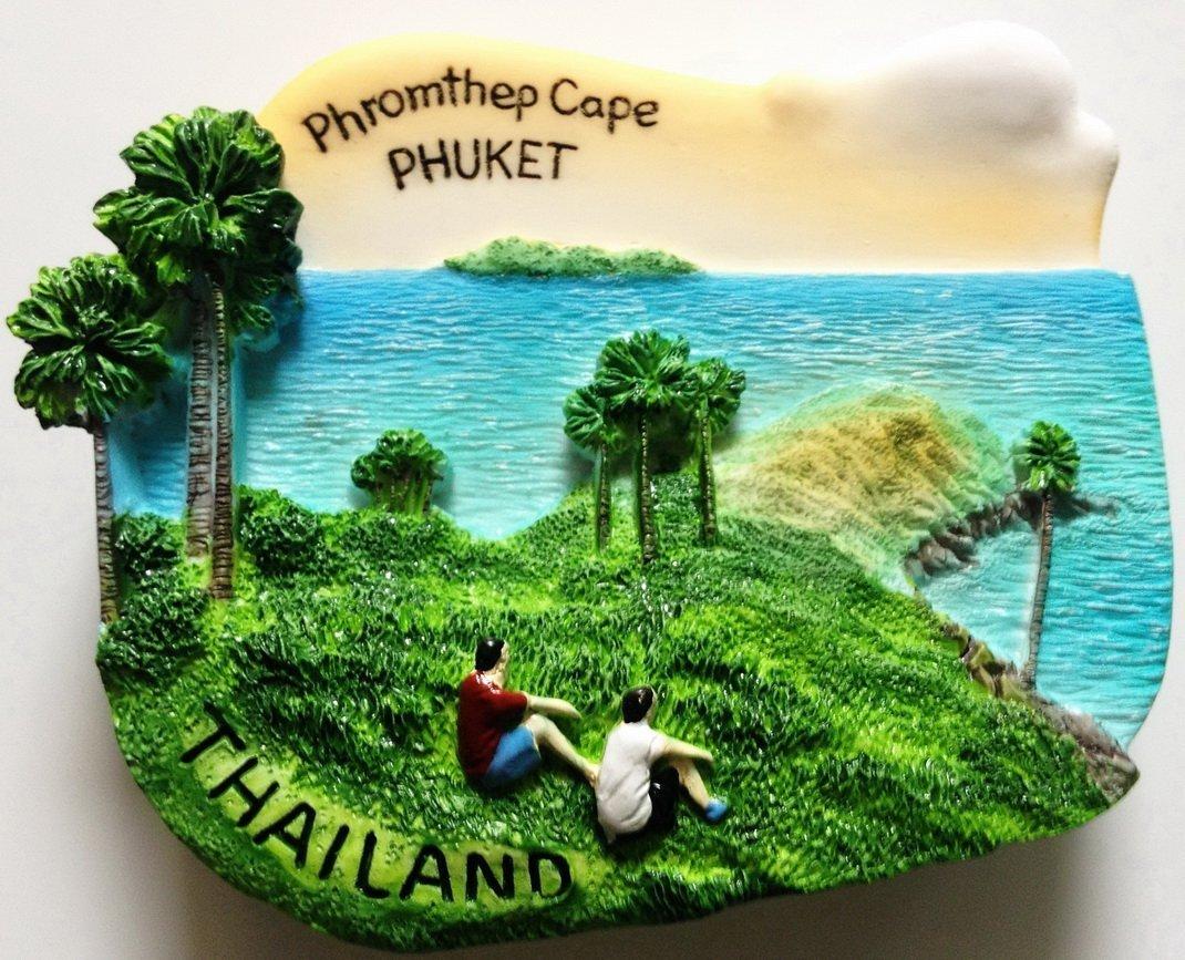 Promthep (Phromthep) Cape PHUKET Thailand High Quality Resin 3D fridge magnet