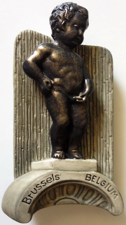 Manneken Pis Brussels Boy Statue Belgium High Quality Resin 3D fridge magnet