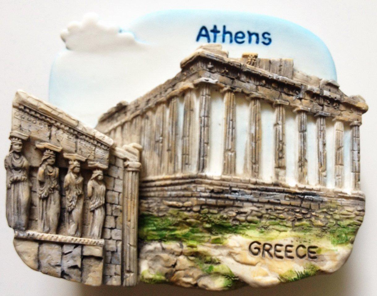 The Parthenon Acropolis ATHENS Greece High Quality Resin 3D fridge magnet