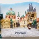 Charles Bridge Prague Centre Capital of Czech Republic 3D fridge magnet