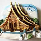 Wat Xieng Thong Luang Prabang LAOS High Quality Resin 3D fridge magnet