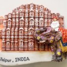 Hawa Mahal Jaipur Pink City INDIA High Quality Resin 3D fridge magnet