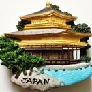 Kinkaku-ji Temple (The Golden Pavilion) Kyoto Japan 3D fridge magnet