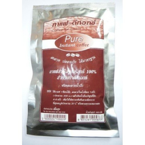 Pure Instant Coffee for Detox (Pure Enema Cleansing) 100g.