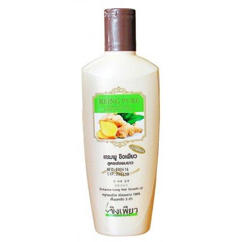Pure ginger shampoo Formula accelerate long as x3
