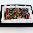 oriental business card holder christmas gift for father handcrafted with mother of pearl a6