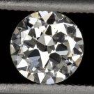 GIA CERTIFIED H VS2 VINTAGE DIAMOND LOOSE OLD EUROPEAN CUT TRANSITIONAL ANTIQUE